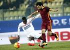 Digne, Dzeko y Salah le dan el triunfo al Roma ante el Carpi
