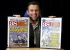 """Cassano: """"Zidane es 'chapeau' y será un entrenador top"""""""