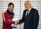 Messi, mejor jugador de enero