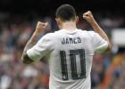 James pone el 2-1 en el marcador