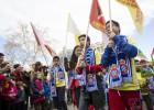 El Año Nuevo chino se tiñe de blanquiazul por el Espanyol