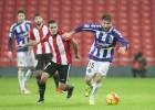 Roger anota para el Valladolid y hunde al Bilbao Athletic