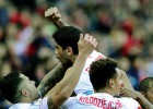 Otro gol 'made in' Banega; el Sevilla no renuncia a ser cuarto