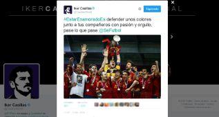 Iker Casillas está enamorado... de la Selección española