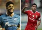 El Benfica-Zenit será un duelo entre Nico Gaitán y Hulk
