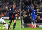 PSG-Chelsea: duelo estrella con Di María y Willian a la cabeza