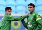 Thiago Silva a Neymar: