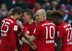 Muller y Lewandowski le dan un nuevo triunfo al Bayern
