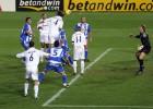 Ramos marcó a pase de Zidane su primer gol en La Rosaleda