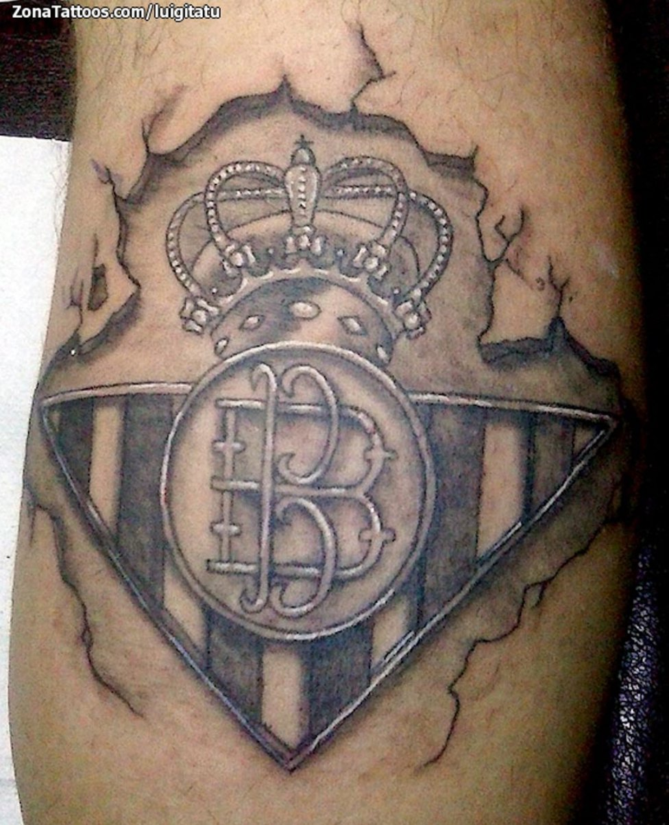 36 tatuajes de escudos de fútbol que te sorprenderán - AS.com