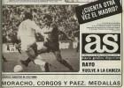 Así fue el AS del 23F de 1981: Atleti líder y el Madrid a palos