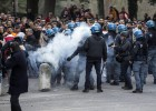 Incidentes en Roma entre aficionados turcos e italianos