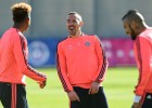 Guardiola disculpa la escapada nocturna de Vidal y Ribéry