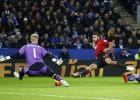 Rondón despertó del sueño al Leciester con un buen gol
