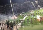 El PAOK-Olympiacos de Copa fue suspendido por seguridad