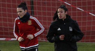 Leila, Claudia, Andrea y Esther, listas para debutar con España