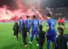 Los graves altercados en el PAOK-Olympiacos en imágenes