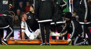 El norirlandés Chris Brunt se pierde la Eurocopa por lesión