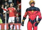 Mata es un superhéroe en Inglaterra: Capitán Marvel