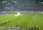 La Copa griega, suspendida por los altercados en la semifinal