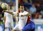 Lucas Vázquez, incansable: el que más corrió ante el Levante