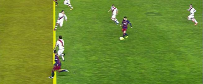 Rayo vallecano barcelona fuera de juego de neymar for Fuera de juego futbol