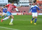 Kiko y Herrera dan la victoria al Girona en la segunda parte