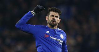 Diego Costa se lesiona pero sus números asombran con Hiddink