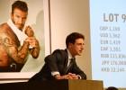 Un retrato de Beckham subastado por casi 100.000 €