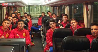 La Sub-17 ya está en Bélgica para disputar el PreEuropeo