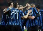 Al Inter le bastan cuatro minutos para ganar al Bolonia