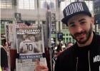 Benzema celebra el guiño de Deschamps para la Eurocopa