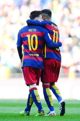 Neymar y Messi se han cocinado 31 goles entre ellos solos