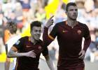 Dzeko y Florenzi amplian la gran racha con Spalletti