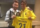 Sergio Ramos intercambió su camiseta con Valerón