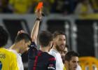 Un partido de sanción para Sergio Ramos, Banega y Barral