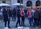 La policía española y la holandesa se coordinan para identificar a los hinchas del PSV