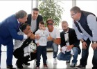 Ahmad, el niño que se quedó huérfano en los bombardeos de Cisjordania, conoció a Cristiano