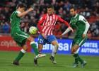El Girona logra un empate ante el líder Leganés en Montilivi