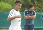 Correa, Augusto y Kranevitter ya trabajan con la Albiceleste