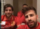 Otro Periscope de Piqué: le dice a Alba cómo parar a Bale