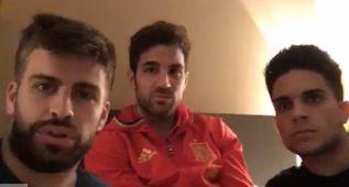 Piqué anuncia un nuevo reto en Periscope: hacerlo con Ramos