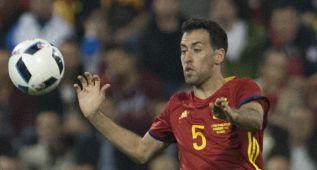 El Barça presiona para liberar a Busquets de jugar con España