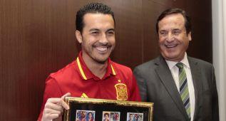 """Pedro: """"Para la Eurocopa vamos a estar bien protegidos"""""""