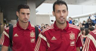 El Barça fuerza a Busquets a dejar la concentración de España