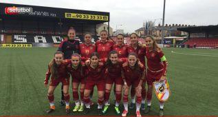 Las Sub-17 arrollan a Ucrania en su debut en el PreEuropeo