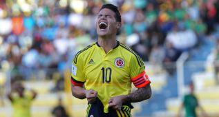 James da su mejor versión con Colombia: gol y asistencia