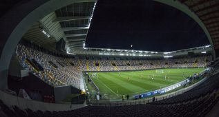 El estadio Friuli de Udine será esta noche un enorme búnker