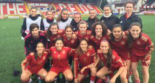 España golea pero se jugará el pase con Dinamarca
