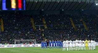 Minuto de silencio en Udine en honor a Johan Cruyff